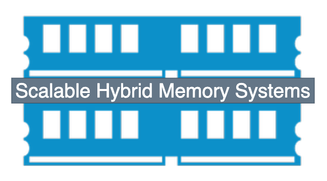 Scalable Hybrid Memory Systems; Logo designed by PADSYS. All rights reserved!