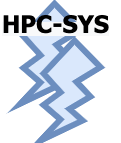 HPC Systems and Libraries; Logo designed by PADSYS. All rights reserved!